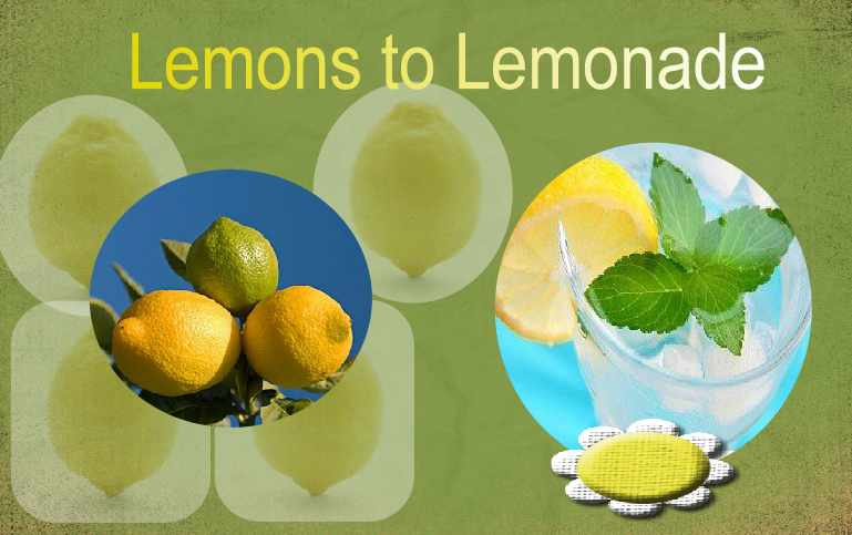 how to make lemonade with lemons and splenda