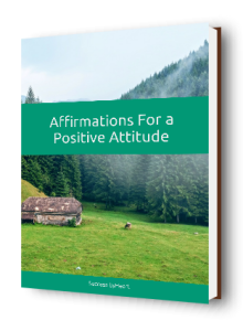 Attitude affirmations -cover-3d